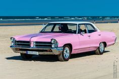 Pretty in pink! Classic american car on the beach... www.bookaclassic.co.uk #bookaclassic #classiccar #carlovers #lovecars #luxurycars #supercars #weddingcar #vintagecar #oldtimer #youngtimer #prewarcar #vintageweddingcar #happywedding #weddinginspiration #weddingphotography #style #drive #auto