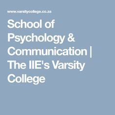 School of Psychology & Communication Psychology Degree, School Psychology, Communication, Investing, College, University, Communication Illustrations, Colleges