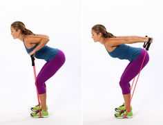 Triceps Press With Resistance Band and other Tricep Exercises