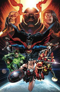 JUSTICE_LEAGUE_50 No puede ser más grande que esto como súper héroe cómico evento mensual de DC prepara el escenario para el próximo año y más allá!