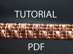 Wire jewelry tutorial jewellery tutorial wire weaving