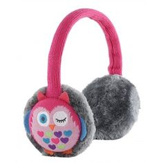 Owl design music earmuffs - perfect gift for teenagers!