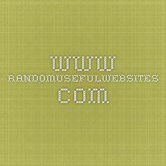 www.randomusefulwebsites.com