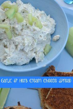 Garlic and Herb Cream Cheese Dip