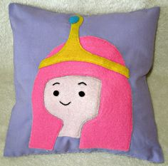 Adventure Time inspired Appliqued Handmade by NaturelandsAndCo, $25.00
