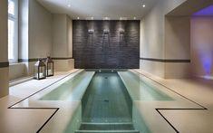 Hotel Schloss Pontresina Spa Pool-detail along edge of water-transition