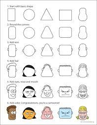 cartoon nose shapes - Google Search