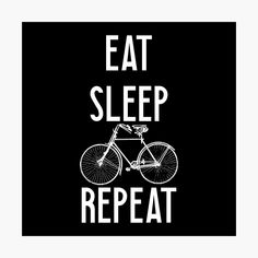 """""""Neuer Fahrrad Spruch"""" Leinwanddruck von PirminOne 