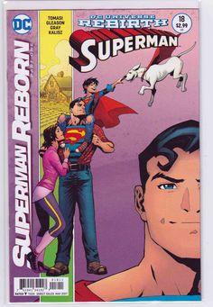 Superman #18 (2017) Patrick Gleason & Mick Gray Cover. Mick Gray Pencils. Peter J. Tomasi, Patrick Gleason Story
