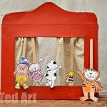 Cereal  Box Theatre for kids
