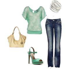 minty, created by juliansbunny on Polyvore