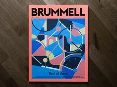 Cover, illustration, magazine in Magazine cover