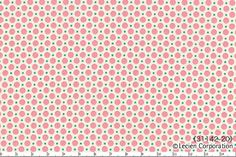 HALF YARD Lecien Black Mini Dots with Pink by fabricsupply