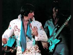 Recorded live on September 1973 (Closing show). Elvis did the song Trouble during his August / September engagement at the Las Vegas Hilton. Elvis Presley Last Concert, Elvis Presley Videos, Elvis Cd, Elvis Collectors, 50s Music, Left Alone, Him Band, Graceland, Belle Photo