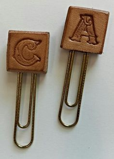 Hey, I found this really awesome Etsy listing at https://www.etsy.com/listing/277914902/leather-monogram-paperclip-planner