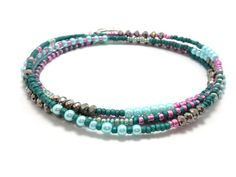 Hey, I found this really awesome Etsy listing at https://www.etsy.com/listing/205995764/multi-strand-seed-bead-bracelet-wrap