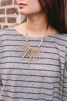 Complete your everyday look with the statement necklaces from Nordstrom Rack #ad Sponsored by Nordstrom Rack//