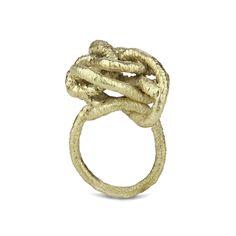 Knot ring Knot, Jewellery, Bracelets, Rings, Fashion, Moda, Knots, Jewels, Fashion Styles