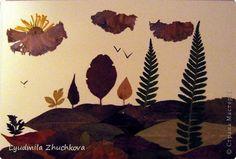 Картина панно рисунок Флористика Праздник осени Аппликация флористика Осенний…