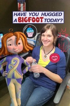 have you hugged a bigfoot today judy moody - Judy Moody Halloween Costume