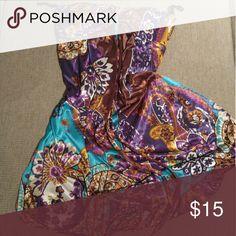 $SALE$Colorful Ruby Rox summer strapless dress Colorful summer dress.strapless..bra top like.. Ruby Rox Dresses Mini