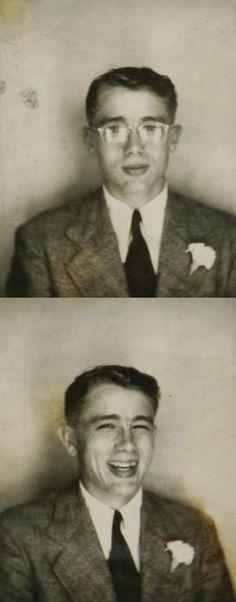 James Dean, age 18