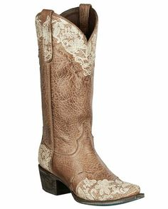 lane jeni lace brown with cream embroidery boots these boots by lane combine the unique beauty of leather and lace the jeni lace boot is perfect for the