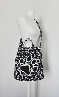 CAT BAG tote bag top handle bag