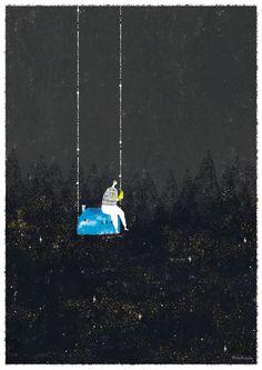 The loop night by Akira Kusaka, via Behance