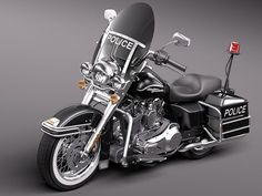 Harley Davidson Road King Classic Police 2011
