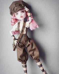 42 super ideas for doll repaint ideas barbie - Mandeep Madden Dolls Monster High Clothes, Custom Monster High Dolls, Monster Dolls, Custom Dolls, Ooak Dolls, Barbie Dolls, Art Dolls, Pretty Dolls, Beautiful Dolls