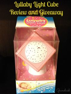 Lullaby Light Cube Star Projector Review and Giveaway