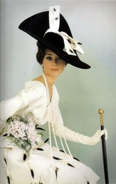 ❥ Audrey Hepburn, Vogue 1964...I would love to get a copy of this VOGUE...SO COOL.