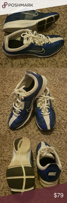 Nike Zoom sneakers size 7.5 Rare Royal Blue Perfect and clean condition as you can see in the pictures! It's Beautiful  Rare Royal blue color Satin Stripped details very unique and hard to find color Nike Zoom 7.5 Athletic shoes, Sneakers, tennis shoes Looking to trade for another Nike size 8 Nike Shoes Athletic Shoes