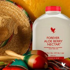 Forever Aloe Berry Nectar All of the goodness found in our Forever Aloe Vera Gel, plus the added benefits of cranberry and apple! The delicious flavor is totally natural, prepared from a blend of fresh cranberries and sweet, mellow apples. Added fructose (a natural fruit sugar) sweetens it just enough to please both adults and children. #gabokakucko