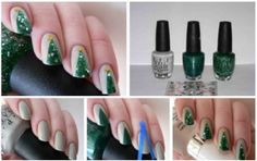 10 #EasyToDo #DIY #NailArt designs for #Moms inspired by #ChristmasMotifs: http://thechampatree.in/2015/12/09/christmas-nail-art/
