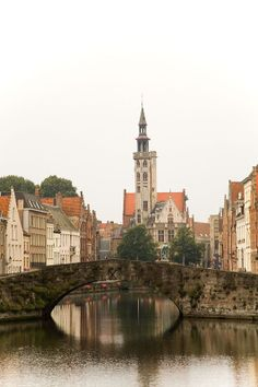 "The Jan van Eyck Square and the ""Poorters"" lodge in Bruges, Belgium"