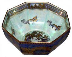 Wedgewood Dragon lustreware bowl, $1600.00