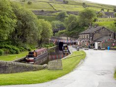Standedge Visitor Centre, Huddersfield Canal.
