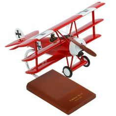 Fokker DR.1 Triplane 1/24 scale Airplane Model by Brookstone. $134.99. Fokker DR.1 Triplane 1/24 scale Airplane Model. The Fokker Dr.1 is a World War I fighter aircraft manufactured by Fokker-Flugzeugwerke. The Fokker Dr.1 was designed by Reinhold Platz and became widespread in 1918. On August 28, 1917, the only machines to receive the F.1 designation were two pre-production tri-planes with serial number 102/17 and 103/17 and arrived at Markebee. These two airc...