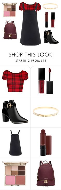 """""""You gotta love autumn"""" by southfashion19 ❤ liked on Polyvore featuring WearAll, Smashbox, Ted Baker, Topshop, Stila and Michael Kors"""