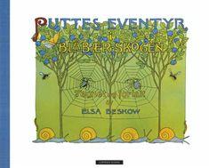 """""""Puttes eventyr i blåbærskogen"""" av Elsa Beskow Elsa Beskow, Folklore, Childhood Memories, Barn, Artwork, Nye, Book Covers, Books, Converted Barn"""