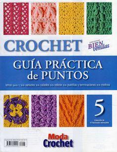 guia de puntos crochet 2009 nro 5 - Cristina Vic - Álbuns da web do…