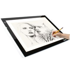 Exceptional A4 Lightbox Which Is Thin And Bright. Great Tool For Tattoo Tracing,  Animation, Idea