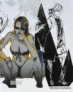 The Phantom Pain -- Metal Gear Solid : Aimgehess Metal Gear Solid Quiet, Metal Gear Solid Series, Character Concept, Character Art, Character Design, Nintendo 3ds, Kingdom Hearts, Saints Row, Raiden Metal Gear