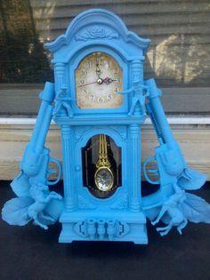 Cowboy Gun Mini Grandfather Clock