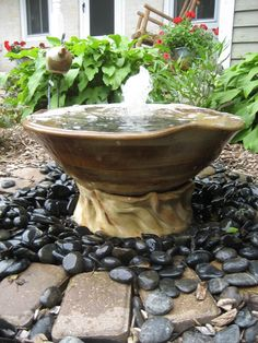 Place Outdoor Fountain could make your backyard beautify