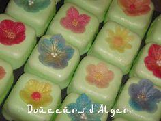 M'khabez fleuri avec les moules Blossom Sugar Art