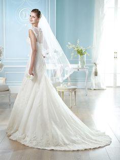 Vestido de novia, modelo Hafford de St. Patrick 2014  www.sanpatrickgranada.es
