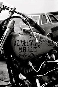 H-D: NO WHEEL NO LIFE